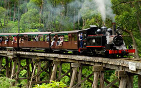 Dandenong Ranges Accommodation - Puffing Billy